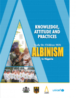 UNICEF Report on Children with albinism in Nigeria