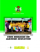 Core messages on Albinism Education