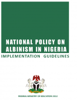 National Policy on Albinism Implementatio Guideline
