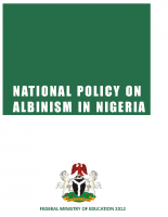 National Policy on Albinism