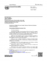 UN General Assembly Resolution on Albinism