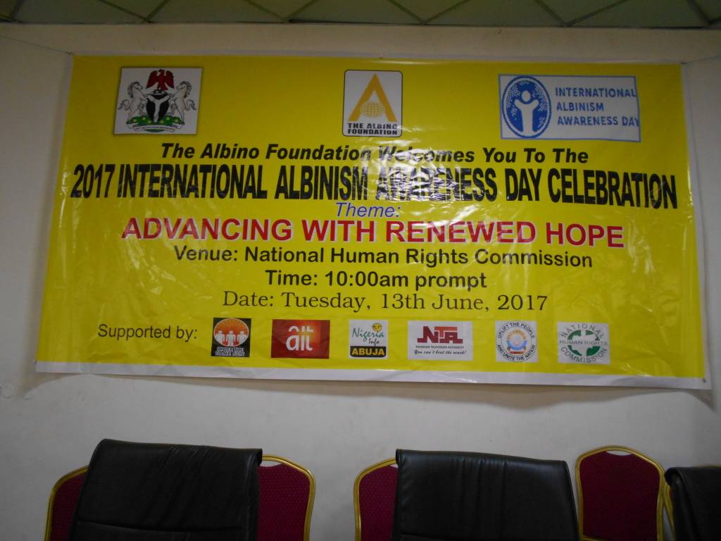 2017 International Albinism Awareness Day Celebration