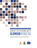 Baseline Survey of persons with albinism in six states and FCT