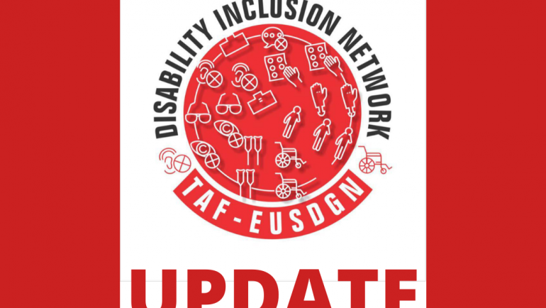 Disability Inclusion Update